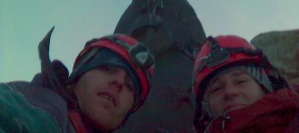 Matterhorn - Na vrcholu u sv. Bernarda